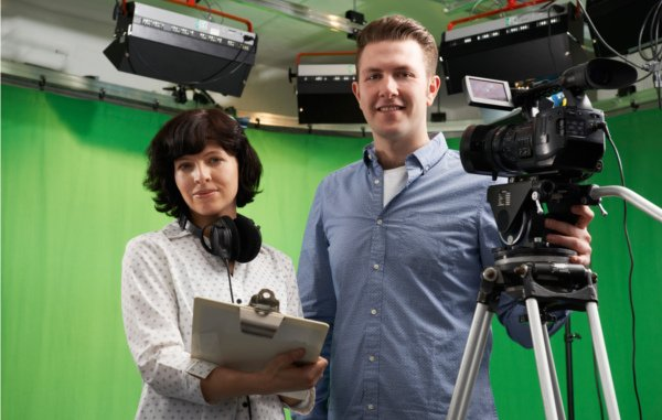 Inter-Actions Digital Video Marketing Green Screen 600