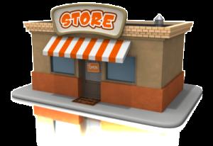 Local business location icon