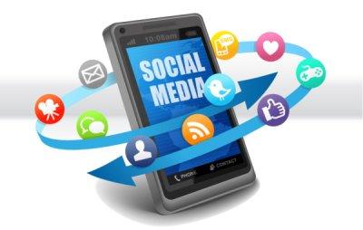 Inter-Actions Digital Social Media Smartphone 600