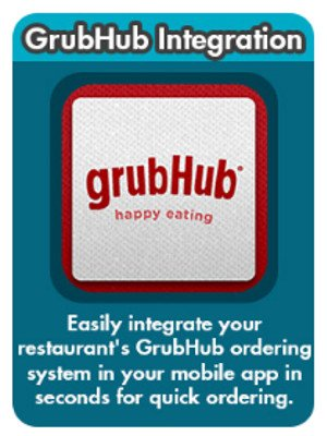 Inter-Actions Mobile App Third Party GrubHub 5 - Inter